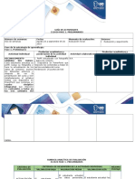 Guía de Actividades y Rúbrica de Evaluación - Fase 1 - Preliminares
