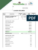 Precios Actual. a Julio 2012 Para Ingeniera Peñaloza Del Promeba