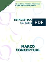(1) Marco Conceptual y Distribucion de Frecuencias