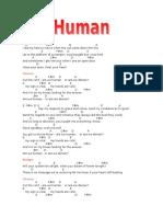 Human Chords