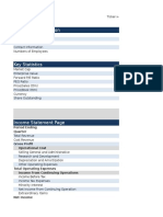 10 Year Model - ADVFN - New Format
