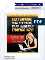 Los Mejores 9 Metodos Efectivos Para Generar Trafico Web