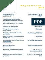 Reglamento Feria Paula Souza
