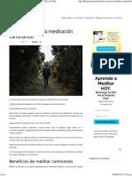 Cómo Practicar La Meditación Caminando - Método Silva de Vida