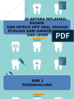 Interaksi Antara Inflamasi Kronik Dan Infeksi Hpv Oral Sebagai Etiologi Dari Kanker Kepala Dan Leher