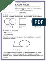 Balotario de Matemática Para El Concurso de Conocimiento