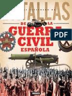 Atlas Ilustrado de Batallas de La Guerra Civil Española Varios