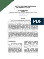 Paper Metode Mise a La Mase