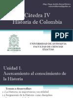 Cronograma de Clases y Exposiciones Cátedra IV Grupo 1
