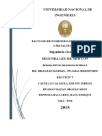 Laboratorio 3de Fisica 1 2015-1