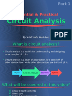 Essential & Practical Circuit Analysis Part 1- DC Circuits