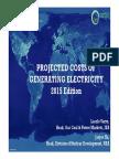 150831 ProjectedCostsOfGeneratingElectricity Presentation