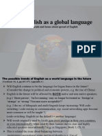 Ch. 4 English as a Global Language Students Future Trends and Issues