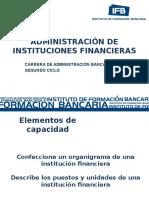 Administración de Instituciones Financieras_ Sesión 13 2012-2