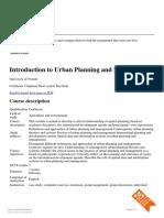 Study Programme Details