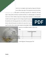 Egg Drop Analysis