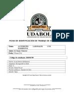 ACIDO GRASO - UDABOL