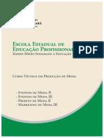 Producao de Moda - Eventos II e II - EFMEPA