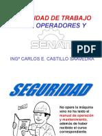 Seguridad y Organizacion de Servicio en Maquinaria