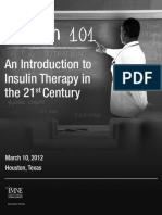 An Introduction to Insulin Therapy