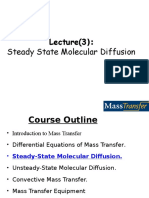 Lecture(4)Steady State Molecular Diffusion