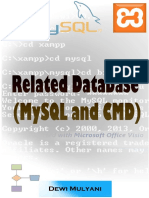 Related Database (MySQL and CMD)