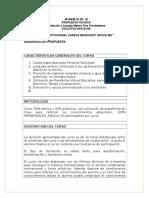 Propuesta Tecnica Curso Office 365