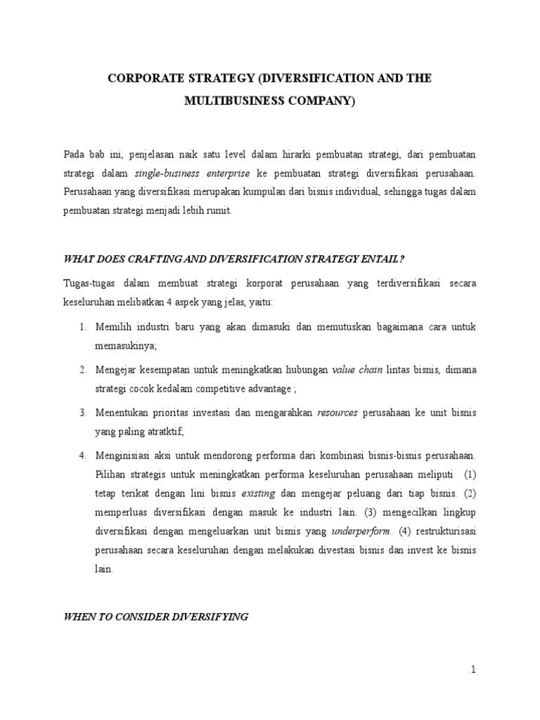 STRATEGI ALTERNATIF – Management Articles