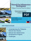 DOE Natural Gas Infrastructure Development in Philippines 2015