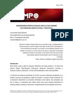 Solano Becerril - UI Más Allá Del Binomio Exclusión - Inclusión TiempoUAM