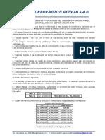 Acuerdo de Gestiòn Comercial de Ventas