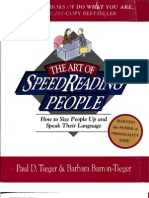 Body Language the Art of Speed Reading People