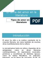 El Tema Del Amor en La Literatura