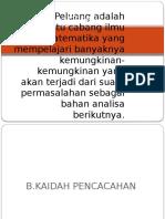 bab 2 'PELUANG'1