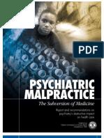 Psychiatric Malpractice