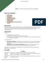 Medicamento Olanzapina 2013