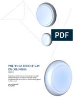Politicas Educativas Colombia