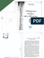 Introduccion a La Practica Del ORFF-SCHULWERK