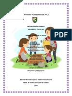 Proyecto Pedagógico de Aula Mi Huerta Campo Alegre