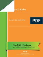 Barbara Z. Kielar - Zarys Translatoryki