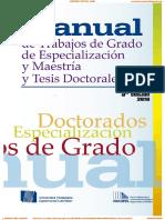 Manual de Trabajos de Grado Upel 5ta Edicion 2016