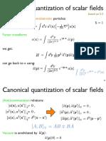 K-GLa ecuación fue llamada así en honor a los físicos Oskar Klein y Walter Gordon, quienes en 1926 propusieron que ella describe a los electrones relativistas. Otros autores haciendo similares afirmaciones en ese mismo año fueron Vladimir Fock, Johann Kudar, Théophile de Donder y Frans-H. van den Dungen, y Louis de Broglie. A pesar de que la ecuación de Dirac describe al electrón en rotación (spinning), la ecuación de Klein-Gordon describe correctamente a los piones sin espín. Los piones son partículas compuestas; una de ellas es el bosón de Higgs, un bosón de espín cero, de acuerdo con el Modelo Estándar.
