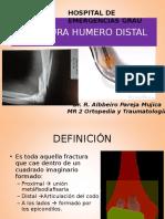 Fracturas Humero Distal - Al-b 2016