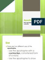 apostrophes forwebsite