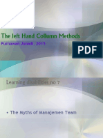 Left Hand Column