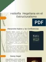 Filosofía  Hegeliana
