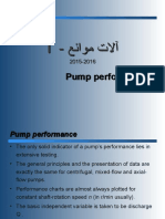Lect 5 - Pump Performance