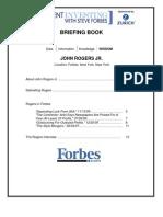 John Rogers Briefing Book