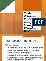 CVP Analysisi New