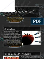 Are GMOs Good or Bad #4 (Final)